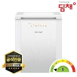 [딤채] 딤채 2019년형 1등급 소형 김치냉장고 뚜껑형 EDL12BFTFW 120L 무료설치