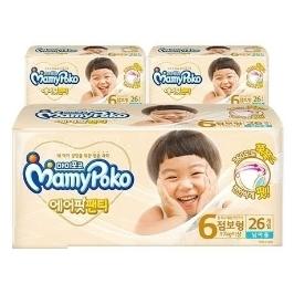 마미포코 에어핏 팬티 점보형 (남아) 26P X 3 총78매