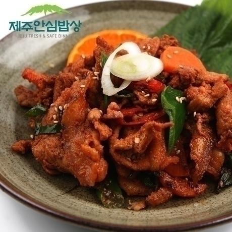 [제주안심밥상] 한정특가 제주돼지 고추장양념불고기 300g 1+1 총600g