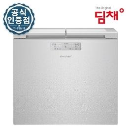 [딤채] [쿠폰+카드 659,120원] ◎ 위니아딤채 뚜껑형 김치냉장고 221리터 EDL22BFWXSS