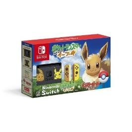 [닌텐도] Nintendo Switch 포켓 몬스터 Let 's Go! 이브이 세트 / 피카츄 / 이브이 / 몬스터 볼 Plus 포함