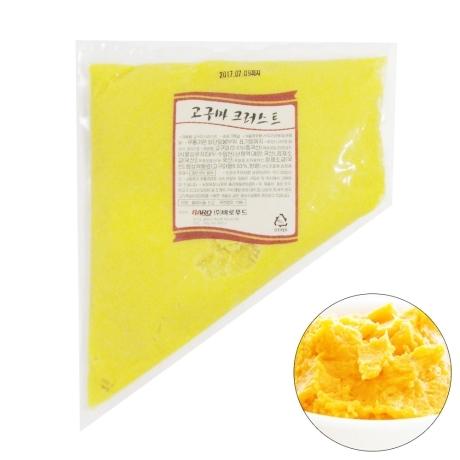 코리원/바로푸드 고구마 크러스트 1kg/무스