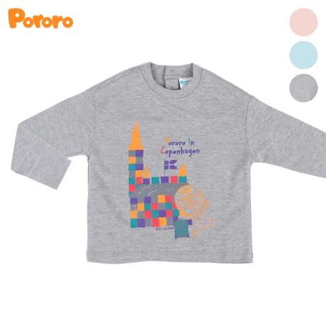 [뽀로로] 오가닉 포컬리 프린트 티셔츠 PA09ART076