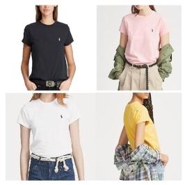 폴로 랄프로렌 여성 반팔티셔츠/우먼 폴로티셔츠/라운드넥 티셔츠/브이넥 티셔츠/폴로티셔츠