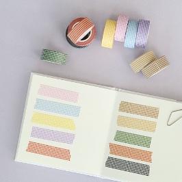 모모팝 모모체크 모모마테 디자인 마스킹 테이프