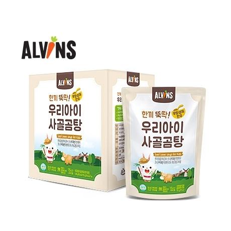 [엘빈즈] 한끼뚝딱 무항생제 한우 사골곰탕 1박스(7팩)