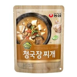 [농심] 농심 쿡탐 청국장찌개 500g 8봉