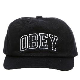 [오베이] [슈즈코치] 오베이 모자 드롭아웃 스냅백 (100570091-BLACK)
