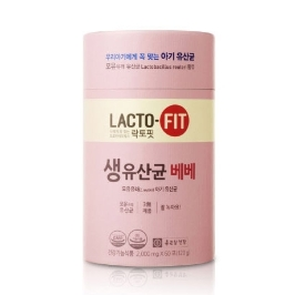 [원더배송] 종근당건강 락토핏 생유산균 베베  2000mg x 60포