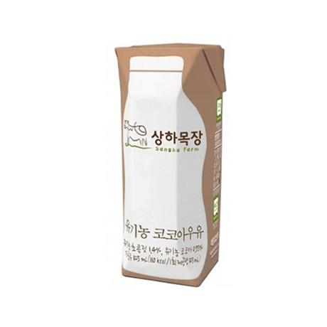 상하목장 유기농 코코아우유 125ml x 48팩