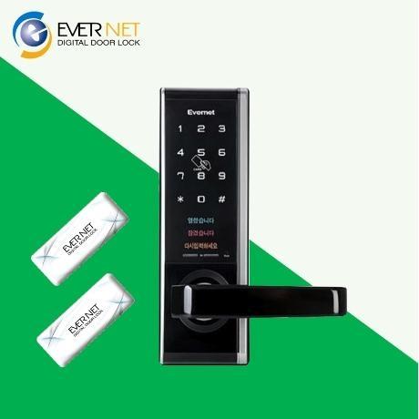 [에버넷] (당일발송)에버넷 디지털도어락 EN950 카드키4개