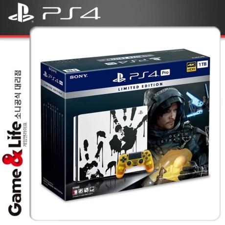 [플레이스테이션4] [G&L] PS4 프로 본체 1TB 데스 스트랜딩 리미티드 에디션