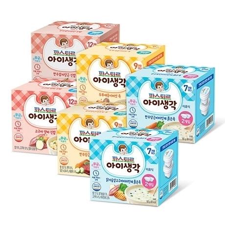 [베이비위크] 아이생각 이유식 4팩 9900원
