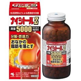 [해외배송] [고바야시제약] 비만탈출! 나이시토루Z 420정