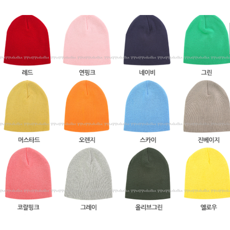 [MD추천] 쫀쫀 베이직비니 20 color / 입소문난 신상템!