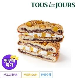 [첫구매특가] 뚜레쥬르 밤이 듬뿍 맘모스(대)