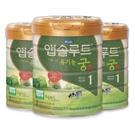 [원더배송] 매일 앱솔루트 분유 유기농궁 1단계 800g X 3캔