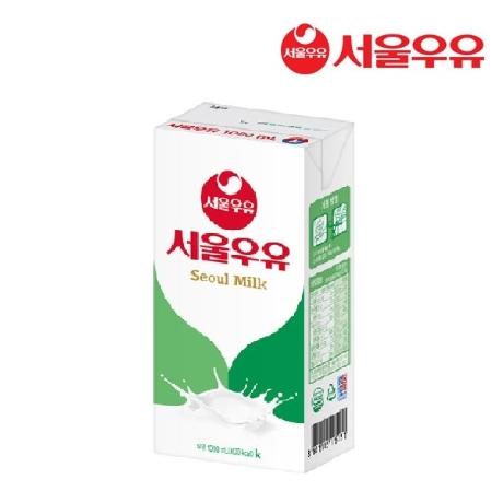 [무료배송]서울우유 멸균우유 1L X 20팩/흰우유/멸균