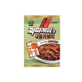 [랭킹특가] 농심 쿡탐짜파게티맛국물라볶이 380g 12개