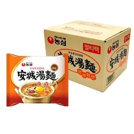 [원더배송] 농심 안성탕면 20봉 x 10박스 (총 200봉)