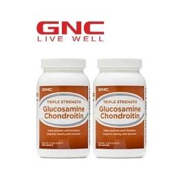 [해외배송] GNC 글루코사민 콘드로이틴 120정 1+1