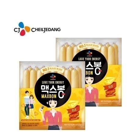 [CJ제일제당] 맥스봉 치즈 560g (35g x16입) x2개 (총 32개)