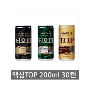 티오피200ml x 30개입  더블랙  마스터라떼  스위트아메리카노 / 3종 택1