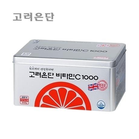 고려은단 비타민C 1000 600정/20개월분