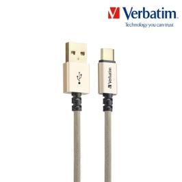 [텐바이텐] 케이블 메탈릭 Type-USB A to C 22AWG 120cm 고급형 골드