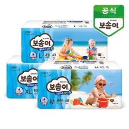 보솜이 리얼코튼 에어링 썸머 밴드/팬티 3팩