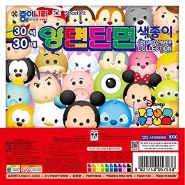 종이나라 1000 디즈니 썸썸 30매 양면 단면 색종이 낱개(1봉) 색종이접기 색종이놀이