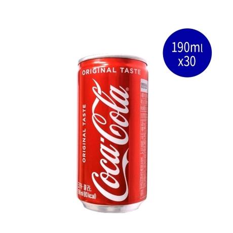 [코카콜라] [소캔] 코카콜라 190mlX30캔
