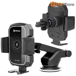 [쇼핑빅딜리그] 팝폰 자동인식 차량용 고속 무선 충전 핸드폰 거치대 HD-20