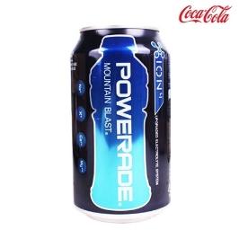 [싸고빠르다] 파워에이드  355ml 1캔 최신제조 뚱캔 음료수 음료 캔음료