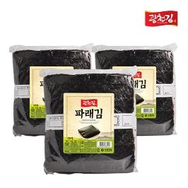 광천김 파래김 생김 100매+100매(150g+150g)
