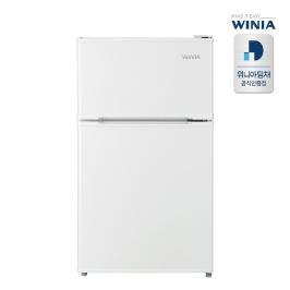 [디지털위크] 공식인증점위니아 소형 일반냉장고 WRT087BW 1등급 87리터 2도어 무료방문설치 으뜸효율환급