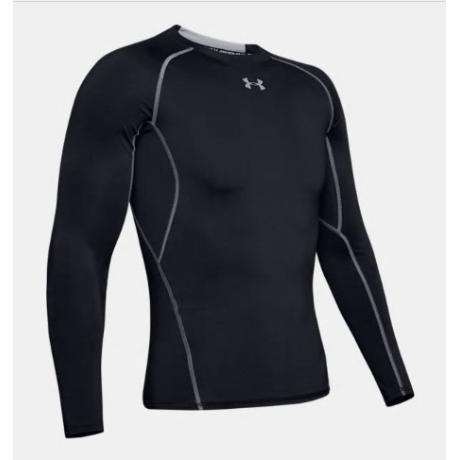 [언더아머] 언더아머 남성 UA HeatGear® 아머 긴팔 컴프레션 셔츠 1257471-001