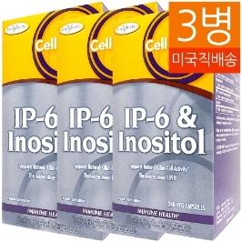 [해외배송] 3병 엔지매틱 테라피 IP-6 이노시톨 800mg/220mg 240베지캡