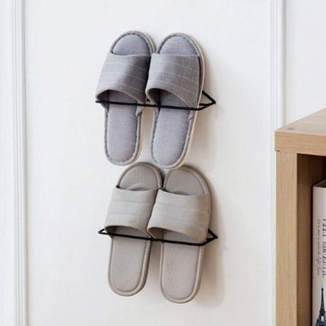 [신발정리] 1+1 슬리퍼걸이/실내화거치대/신발걸이/신발진열대