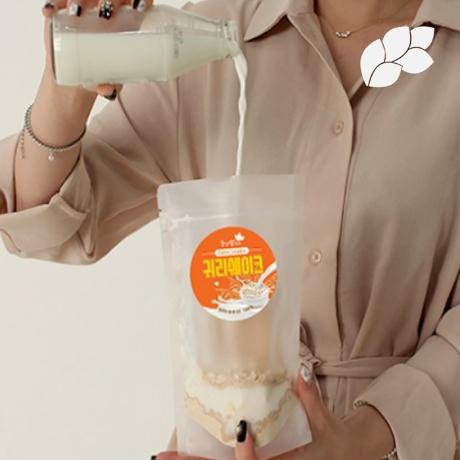 *T★볶은귀리 우유 쉐이크 20g/사은품증정/30+1/50+3/100+10봉 텀블러증정/휴대간편식/식사대용/다이어트