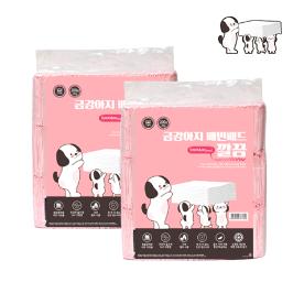 [원더배송] 금강아지 배변패드 깔끔 200매더블1+1 (400매)