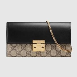 [구찌] [해외배송] 구찌 패드락 컨티넨탈 지갑