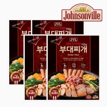 [TV상품]쟌슨빌 JVL 부대찌개 4팩