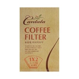 [칸타타] [칸타타] 커피 여과지무표백 2~5인용