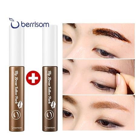 BERRISOM 한정수량 1+1  웁스 마이 브로우 타투팩 3종택2(전구매 립틴트팩 증정)