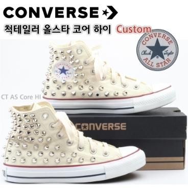 411dfc507fd [Converse] 정품 컨버스 올스타 척테일러 하이탑 커스텀 스터드 찡 컴뱃 신발(Be_S) 위메프 프라이스 119,000원 ...