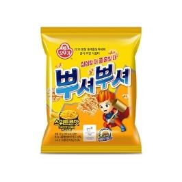 [싸고빠르다] 뿌셔뿌셔 스위트콘맛 90g 1개 (유통기한 20년 1월 14일)