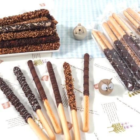 푸드/단체용_알뜰 막대과자만들기세트 DIY/초콜릿/빼빼과자데이/초콜릿만들기