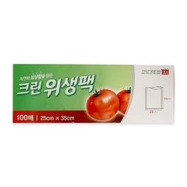 크린위생팩(중) 100매 (10x25x35)