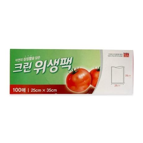 [싸고빠르다] 크린위생팩(중) 100매 (10x25x35)